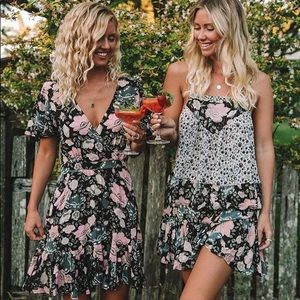 Spell floral dress L